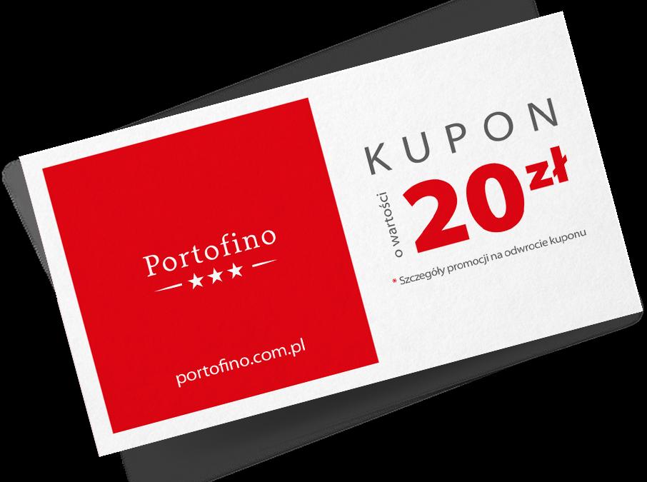 Kupon 20 zł do wykorzystania w Portofino