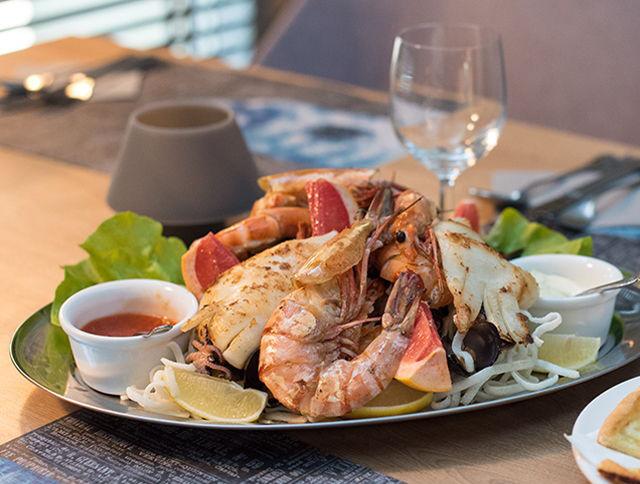 Shrimp meal Włocławek